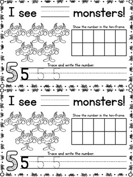 Creepy Counting {A Halloween Counting Mini-Book} {Common Core Aligned Math Fun}