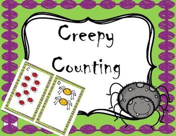 Creepy Counting- Halloween