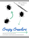 Creepy Crawlers - Easy Flute Solo