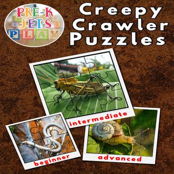 Creepy Crawlers Puzzle Printables