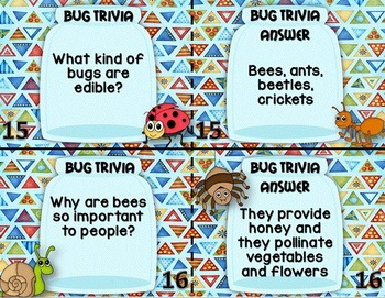 Creepy Crawlies ~ Bugs and Insects Unit