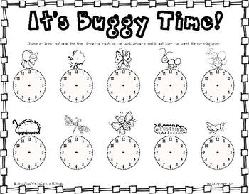 Creepy Crawlies - Literacy, Math and Science Activities all about Insects!