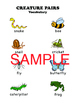 Creepy Crawling Creatures (Speech Therapy Variety Pack!)