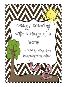 Creepy Crawling with Diary of a Worm Common Core