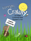Creepy Crawly 10 Frame Counting Mats (1-10)