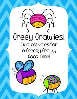 Creepy Crawly Activitiy