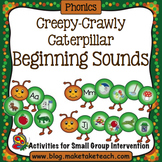 Alphabet - Creepy Crawly Caterpillars