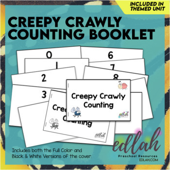 Creepy Crawly Counting Book