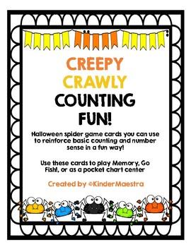 Creepy Crawly Counting Fun
