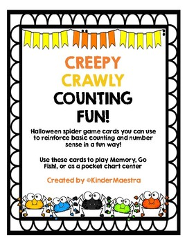 Creepy Crawly Counting Fun