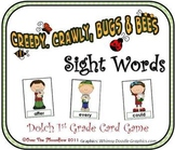 Creepy Crawly Dolch 1st Grade Sight Words Game