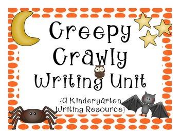 Creepy Crawly Kindergarten Writing Unit