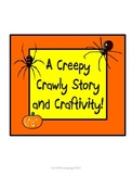 Halloween Creepy Crawly Spider Craftivity & Writing Activities for Common Core