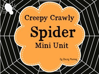 Creepy Crawly Spider Mini-Unit