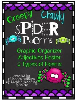Creepy, Crawly Spider Poems