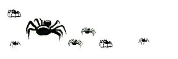 Creepy Crawly Spider Powerpoint Template