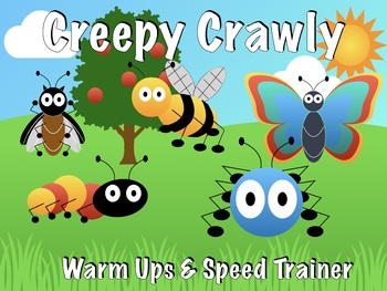 Creepy Crawly Warmups Snare Drum / Drumline