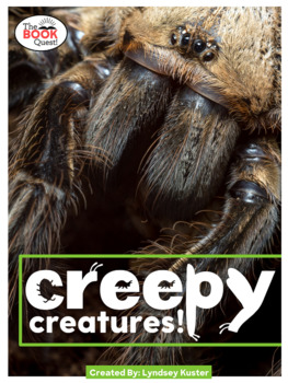 Creepy Creatures - Nonfiction Readers (Four Levels) and Questions