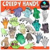 Creepy Hands Clip Art Set {Educlips Clipart}