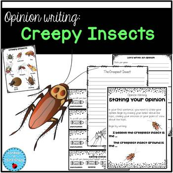 Creepy Insects Opinion Writing