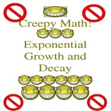 Special Education Creepy Lesson on Algebra Exponential Gro