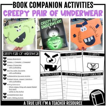 Creepy Pair of Underwear Activities and Book Companion