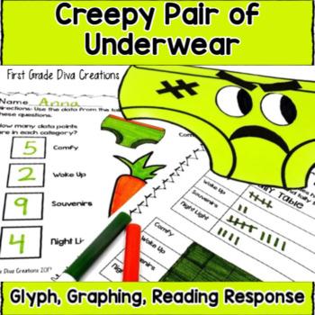 Creepy Pair of Underwear Glyph and Reading Response Activities