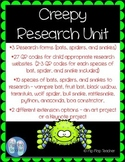 Creepy Research Unit with 27 QR Code research links!