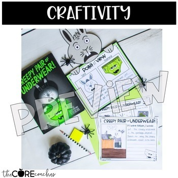 Creepy Pair of Underwear: Interactive Read-Aloud Lesson Plans and Activities