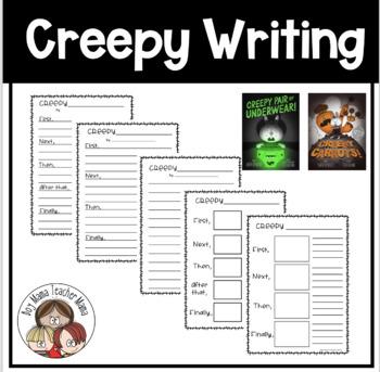 Creepy Writing Based on Creepy Pair of Underwear and Creepy Carrots