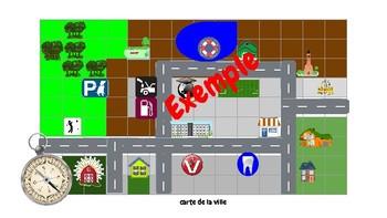Créer et décrire une carte de la ville avec les applications Google