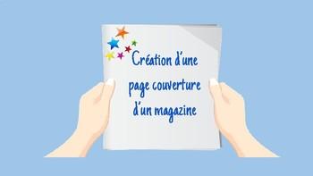 Créer une page couverture pour un magazine:  un projet ave