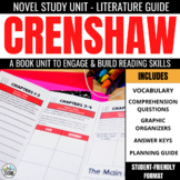 Crenshaw Novel Study Unit