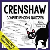 Crenshaw (Crenshaw Questions) Crenshaw Novel Study