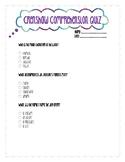 Crenshaw Comprehension Quiz RL.3.1
