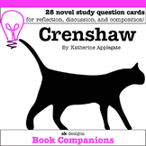 Crenshaw Discussion Question Cards for Classroom & Distance Learning