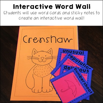 Crenshaw Interactive Read Aloud Unit with Social Studies Connections