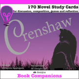 Crenshaw Novel Study Cards for Classroom, Home, and Distan