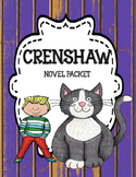 Crenshaw - Novel Unit Bundle Print and Paperless ( Google)  Distance Learning