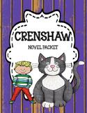 Crenshaw - Novel Unit Bundle Print and Paperless