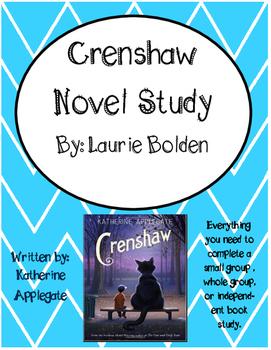 Crenshaw by Katherine Applegate Literature Unit