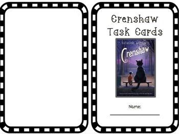 Crenshaw by Katherine Applegate Task Cards