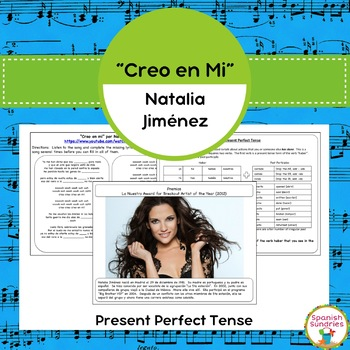 """Creo en mi"" & The Present Perfect Tense"