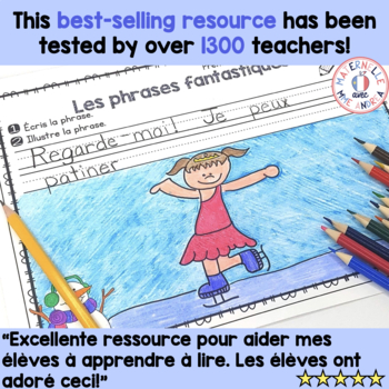 Phrases fantastiques! - Hiver (FRENCH Winter Pocket Chart Sentences)