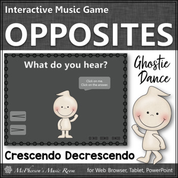 Crescendo vs Decrescendo - Ghostie Dance Interactive Music Game {dynamics}