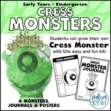Cress Monsters (growing plants, spring, science, project b