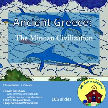 Ancient Greece: The Minoan Civilization on the Island of Crete