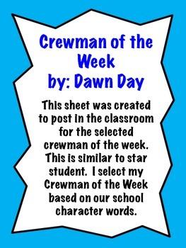 Crewman of the Week