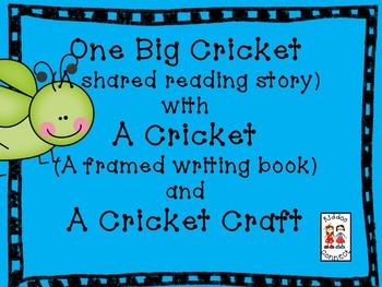 "Cricket Shared Reading - ""One Big Cricket"""