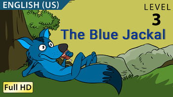 The Blue Jackal : Animated story in  English (US) with subtitles